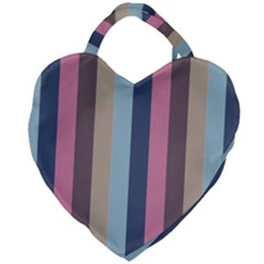 Modern Baroque Giant Heart Shaped Tote