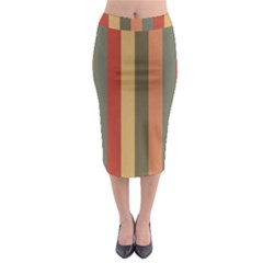 Amongst The Pigeons Midi Pencil Skirt