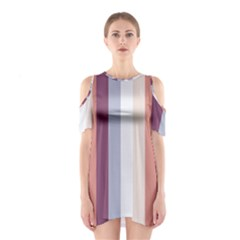 Grape Tapestry Shoulder Cutout One Piece