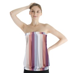 Grape Tapestry Strapless Top