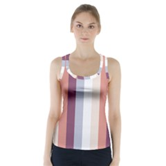 Grape Tapestry Racer Back Sports Top