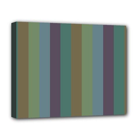 Rainy Woods Deluxe Canvas 20  X 16