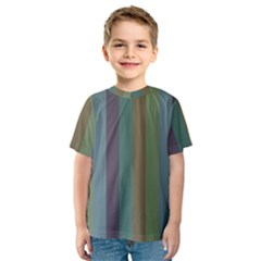 Rainy Woods Kids  Sport Mesh Tee