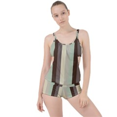 Mint Sunday Boyleg Tankini Set