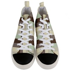 Mint Sunday Men s Mid Top Canvas Sneakers