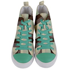 Mint Sunday Women s Mid Top Canvas Sneakers