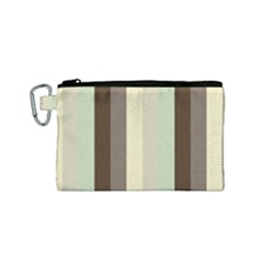 Mint Sunday Canvas Cosmetic Bag (small)