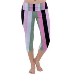 Electric Sunday Capri Yoga Leggings