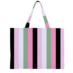 Electric Sunday Zipper Large Tote Bag