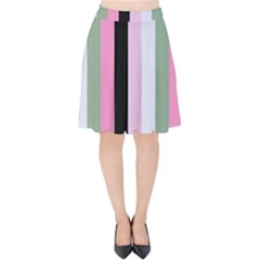 Electric Sunday Velvet High Waist Skirt