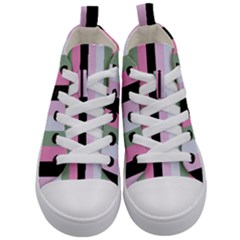 Electric Sunday Kid s Mid Top Canvas Sneakers