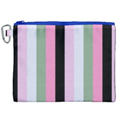 Electric Sunday Canvas Cosmetic Bag (xxl)