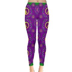 Peace Be With Us In Love And Understanding Leggings