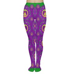 Peace Be With Us In Love And Understanding Women s Tights