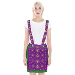 Peace Be With Us In Love And Understanding Braces Suspender Skirt