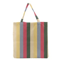 Summer Rose Grocery Tote Bag