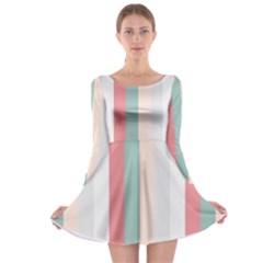 Heaven Goddess Long Sleeve Skater Dress