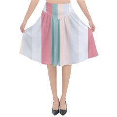 Heaven Goddess Flared Midi Skirt