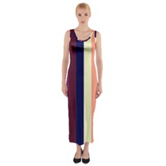 Sisters Fitted Maxi Dress