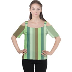 Pistachio Ice Cream Cutout Shoulder Tee