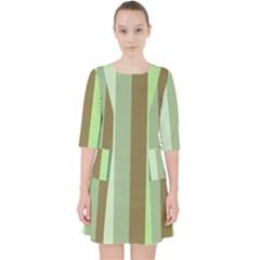 Pistachio Ice Cream Pocket Dress