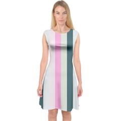 Olivia Capsleeve Midi Dress