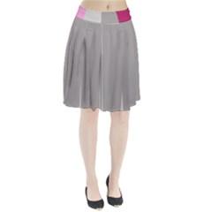 Laura Lines Pleated Skirt
