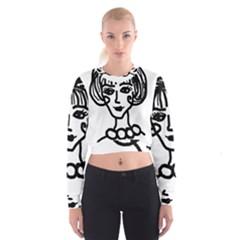 20s Girl Cropped Sweatshirt