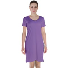 Another Purple Short Sleeve Nightdress