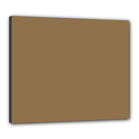 Brownish Canvas 24  X 20