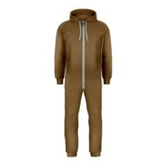 Brownish Hooded Jumpsuit (kids)