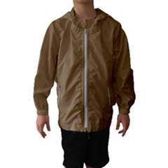 Brownish Hooded Wind Breaker (kids)