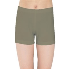 Rainy Brown Kids Sports Shorts