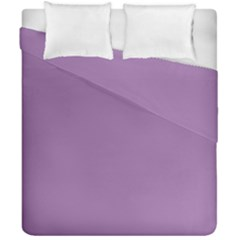 Uva Purple Duvet Cover Double Side (california King Size)