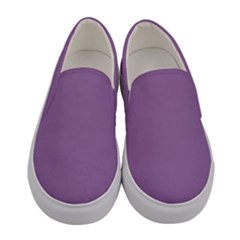 Uva Purple Women s Canvas Slip Ons