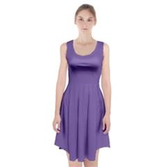 Purple Star Racerback Midi Dress