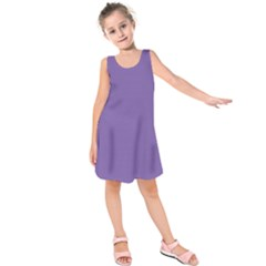 Purple Star Kids  Sleeveless Dress