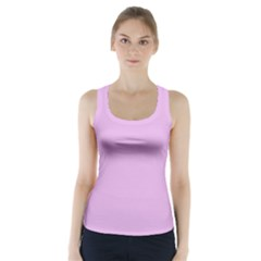 Pink Flowers Racer Back Sports Top
