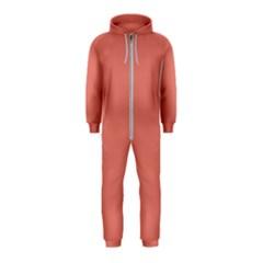 Late Peach Hooded Jumpsuit (kids)