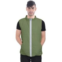 Earth Green Men s Puffer Vest