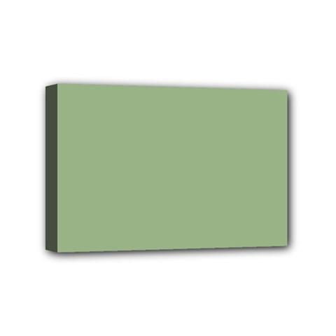 Tree Green Mini Canvas 6  X 4