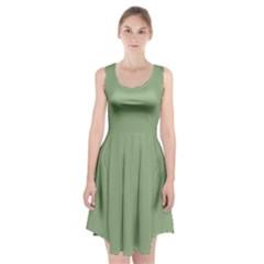 Tree Green Racerback Midi Dress