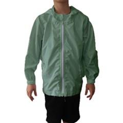 Mossy Green Hooded Wind Breaker (kids)