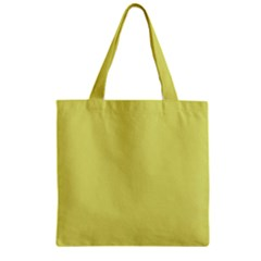 Avocado Zipper Grocery Tote Bag