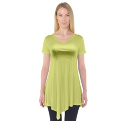 Avocado Short Sleeve Tunic
