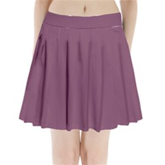 Medium Grape Pleated Mini Skirt