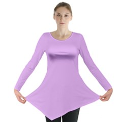 Purple Whim Long Sleeve Tunic