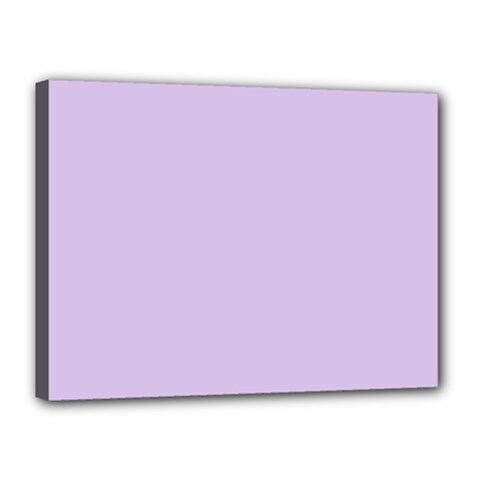 Baby Lilac Canvas 16  X 12