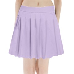 Baby Lilac Pleated Mini Skirt