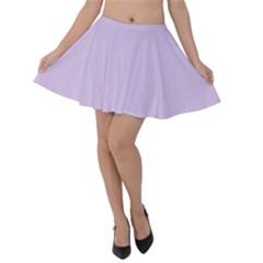 Baby Lilac Velvet Skater Skirt